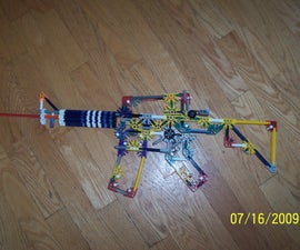 Knex M4A1 Carbine (virsion from Fartonia's)