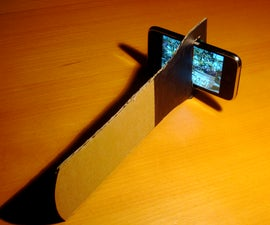 DIY 3d camera / viewer with an iPhone