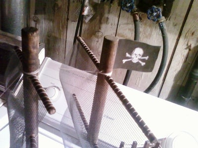 Bead Chain the Poop Deck and Make the Flag!