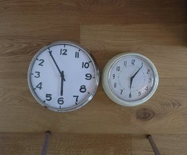 How to Make a Counter-clockwise Clock (in Under 10 Minutes!)