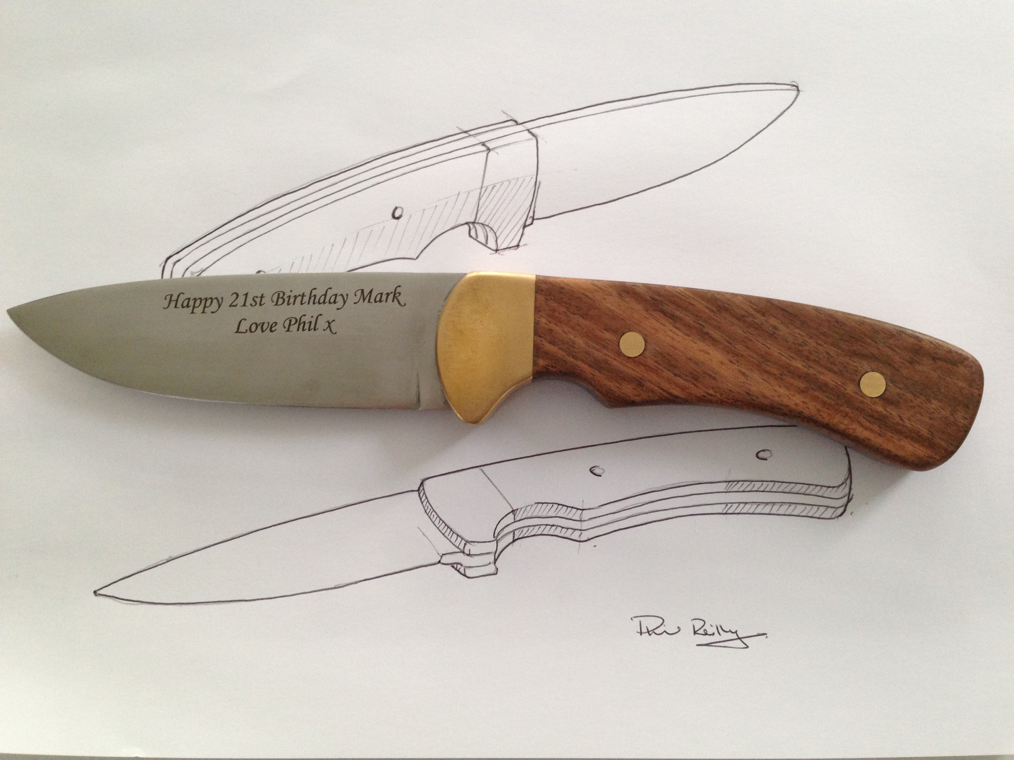 Picture of Knife Complete!