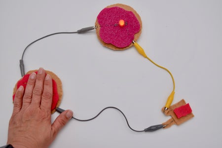 Conductive Jelly Donuts - an Introduction to Sewing Circuits With Makey Makey