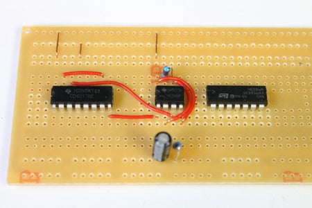Adding the Parts and Connectors on the 555 IC
