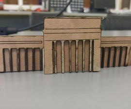 Designing Architectural Models for Laser Cutting in Inkscape