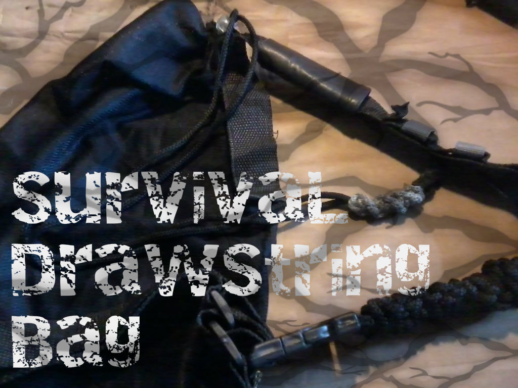 Picture of Survival DrawString Bag