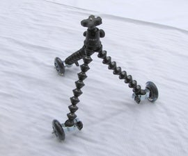 Removable Tripod/Small Table Dolly Attachments (swivel mod added)