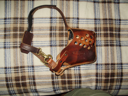 Picture of Leather Police Style Muzzle