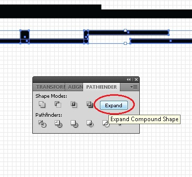 Picture of Using the Pathfinder Tool