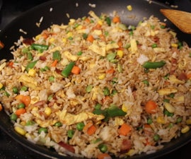 Fried Rice for Hungry College Students