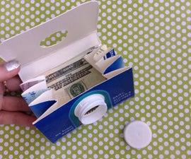 Children's Craft: Milk Carton Wallet