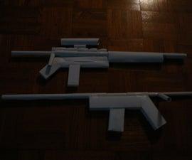 Paper gun assault rifle!
