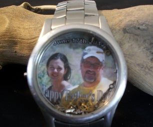 Father's Day--Broken Watch Gift
