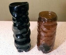 Shaping Plastic Bottles Into Something Interesting