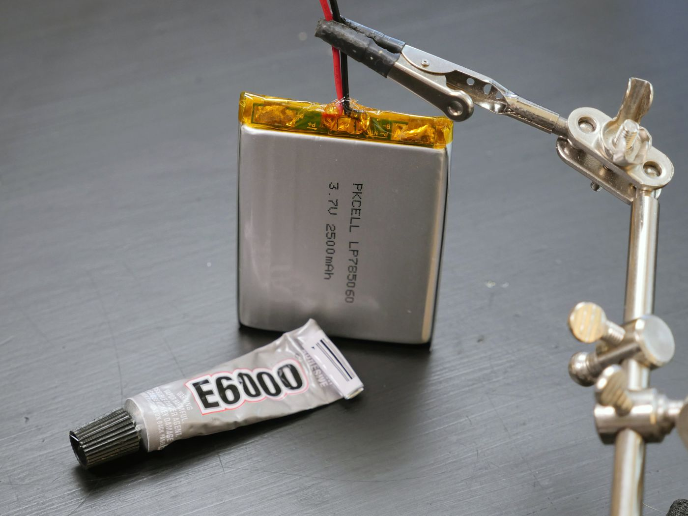 Picture of Battery & Code