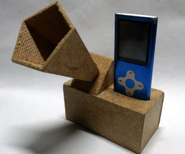 Custom MP3 Dock with Electronic Amplification