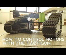 How to Control Motor With the Tactigon - Part I