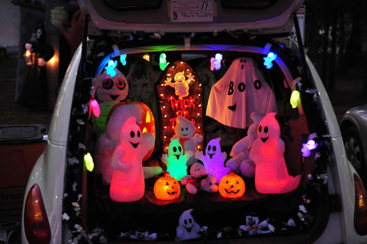 Picture of Arduino-controlled Halloween RGB Lights and Strobe