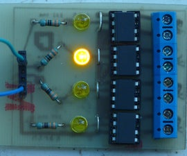 Building a four channel SolidState Relay