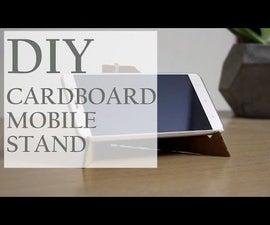 DIY Cardboard Mobile Stand