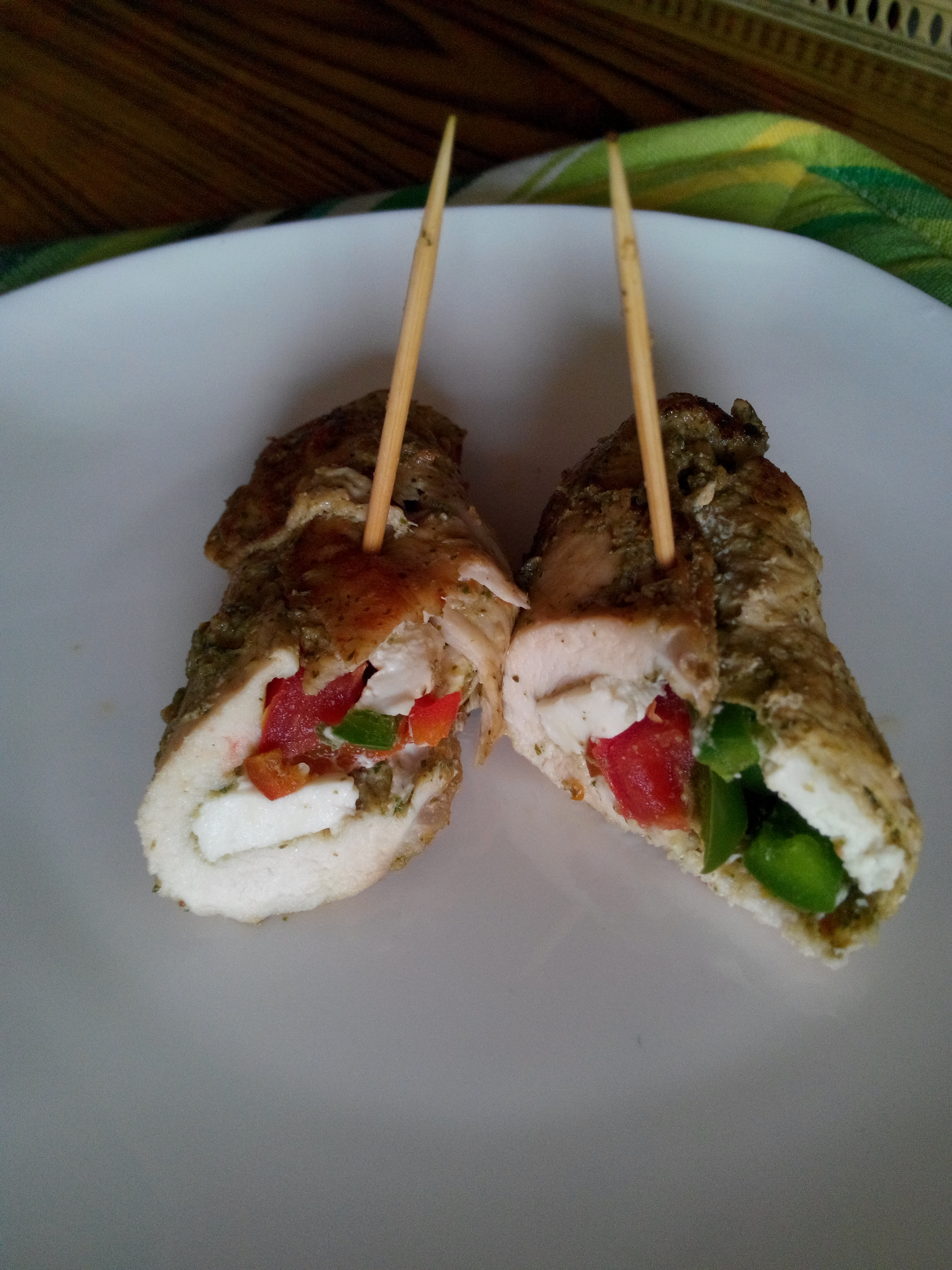 Picture of Diet Stuffed Chicken ( Single Serving)