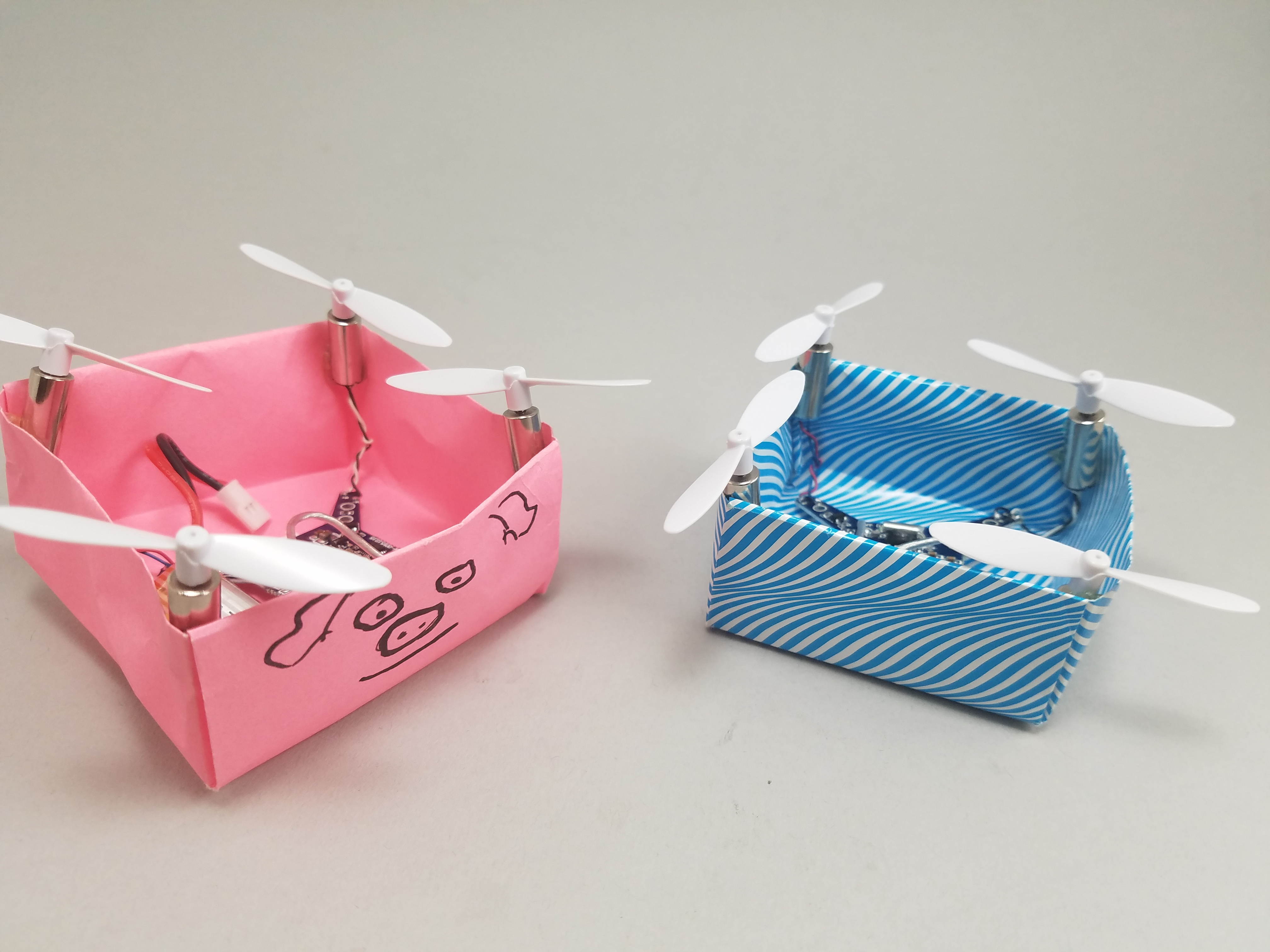 Picture of Origami Drone - When Pigs Fly!
