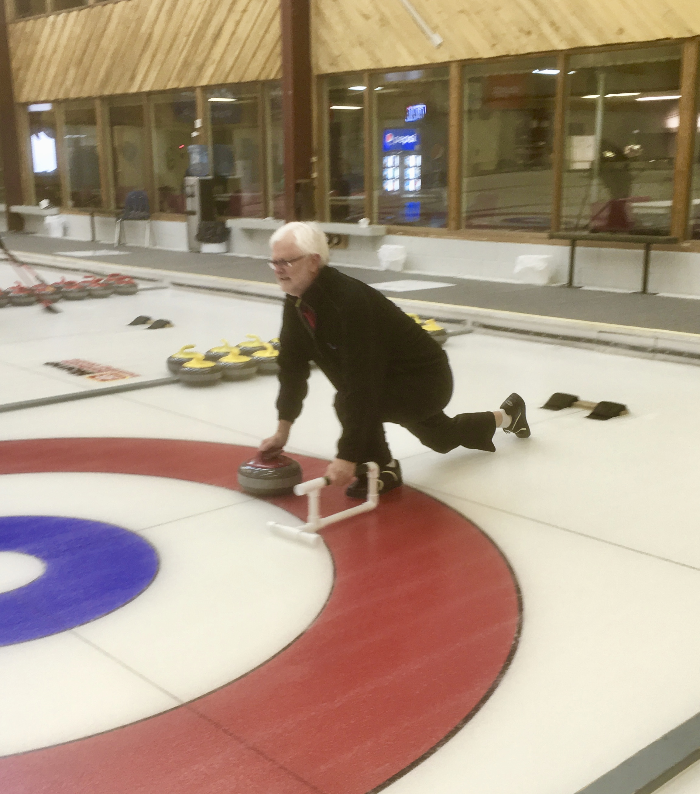 Picture of Curling Crutch (for the Sport of Curling)