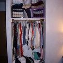 Small house, tiny closets: IKEA, rescue us!