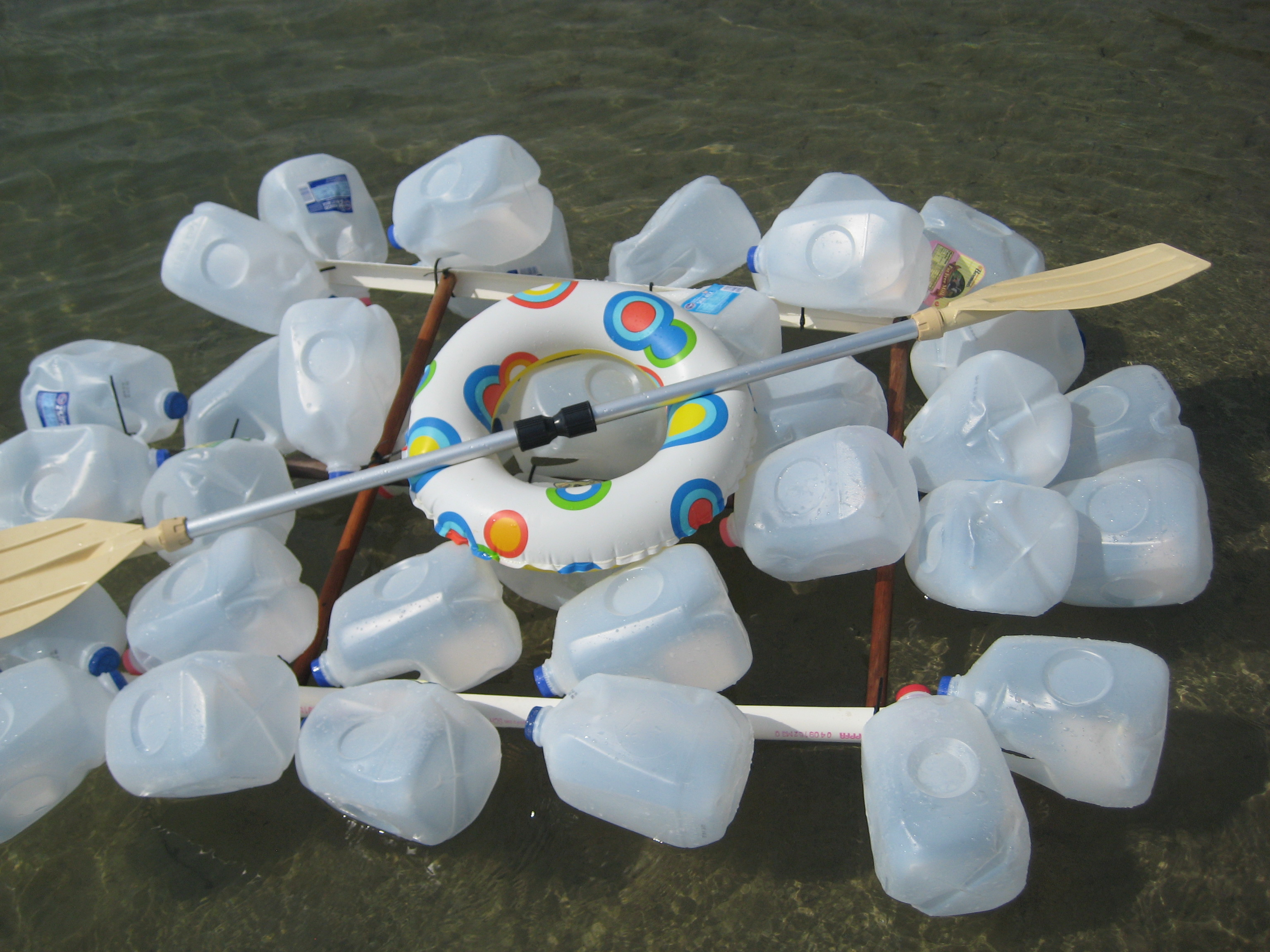 Picture of Milk Jug Raft