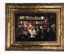 DIY Harry Potter Moving Portrait Project