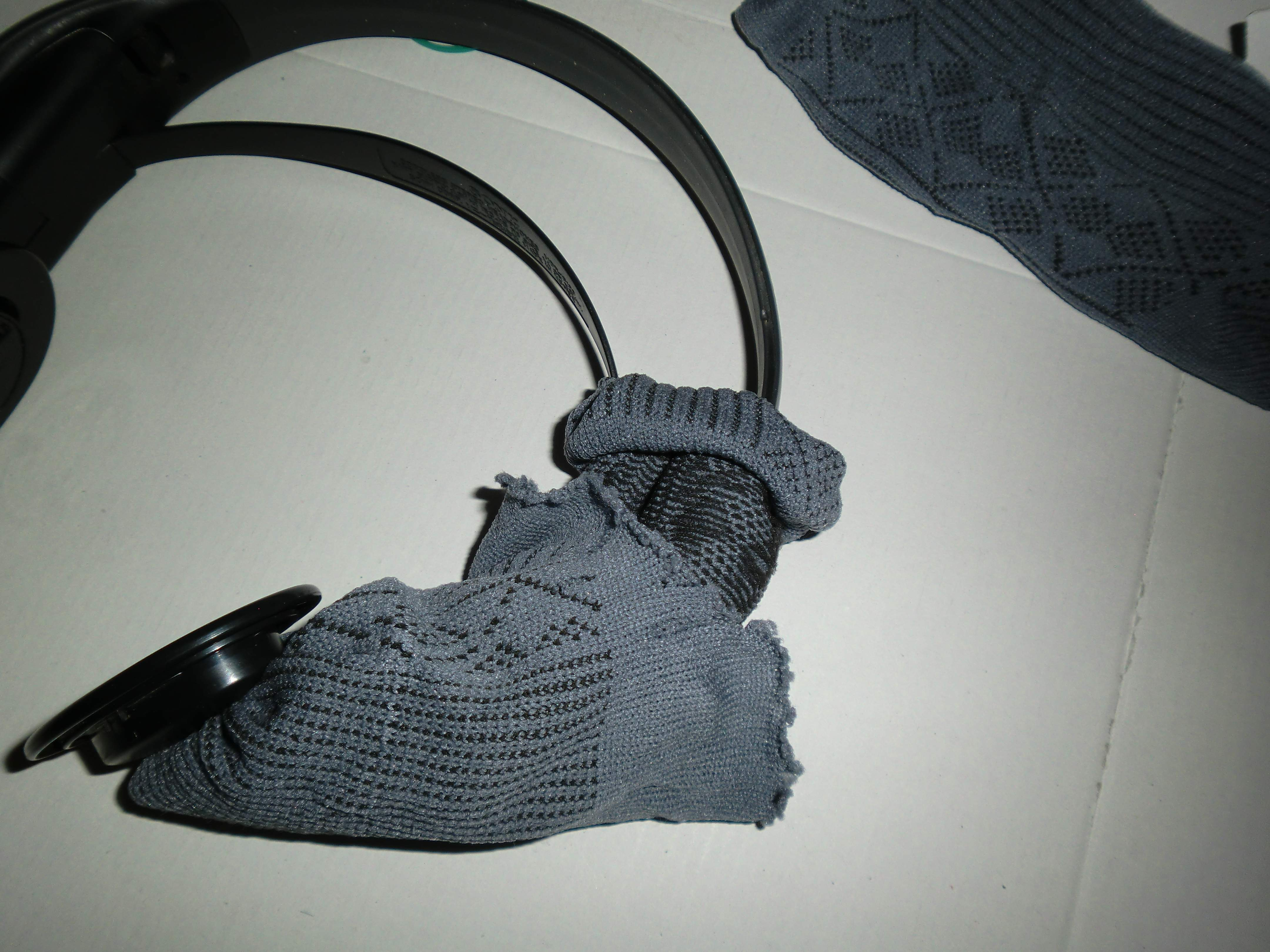 Picture of Rolling Up Sock / Enrollando El Calcetin