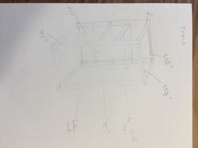 Lay Out the Dimensions of Your Closet Using Tape and Make a Drawing