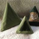 Easy Sew Pyramid Doorstop