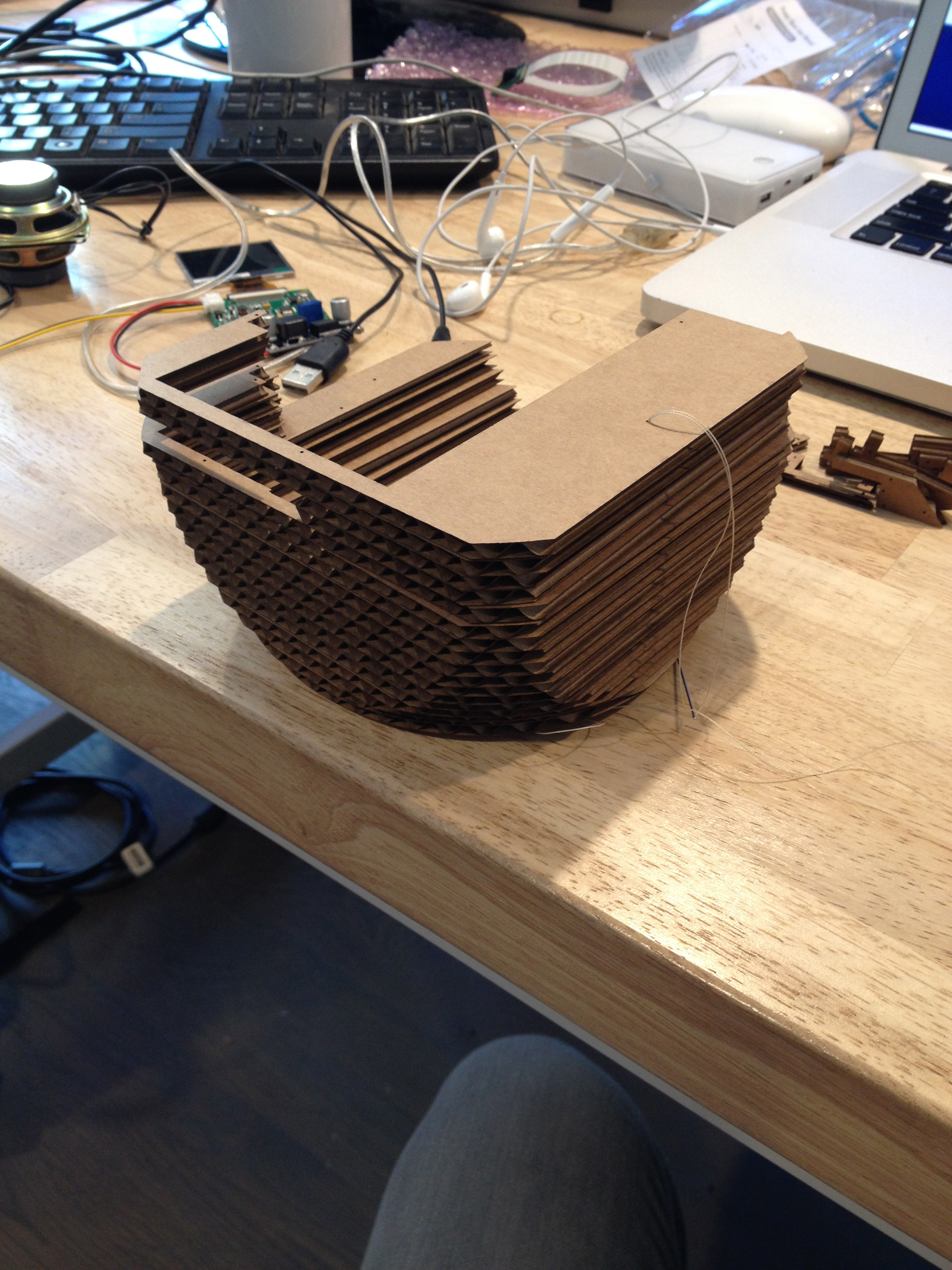 Picture of Prototyping With 123D Make and Cardboard