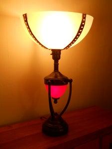 Steampunk Lamp Globe