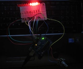 Arduino Cylon Scanning Eye