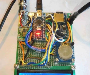 DIY Logging Thermometer With 2 Sensors