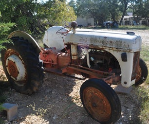 My Other Project: 1947 Ford Tractor