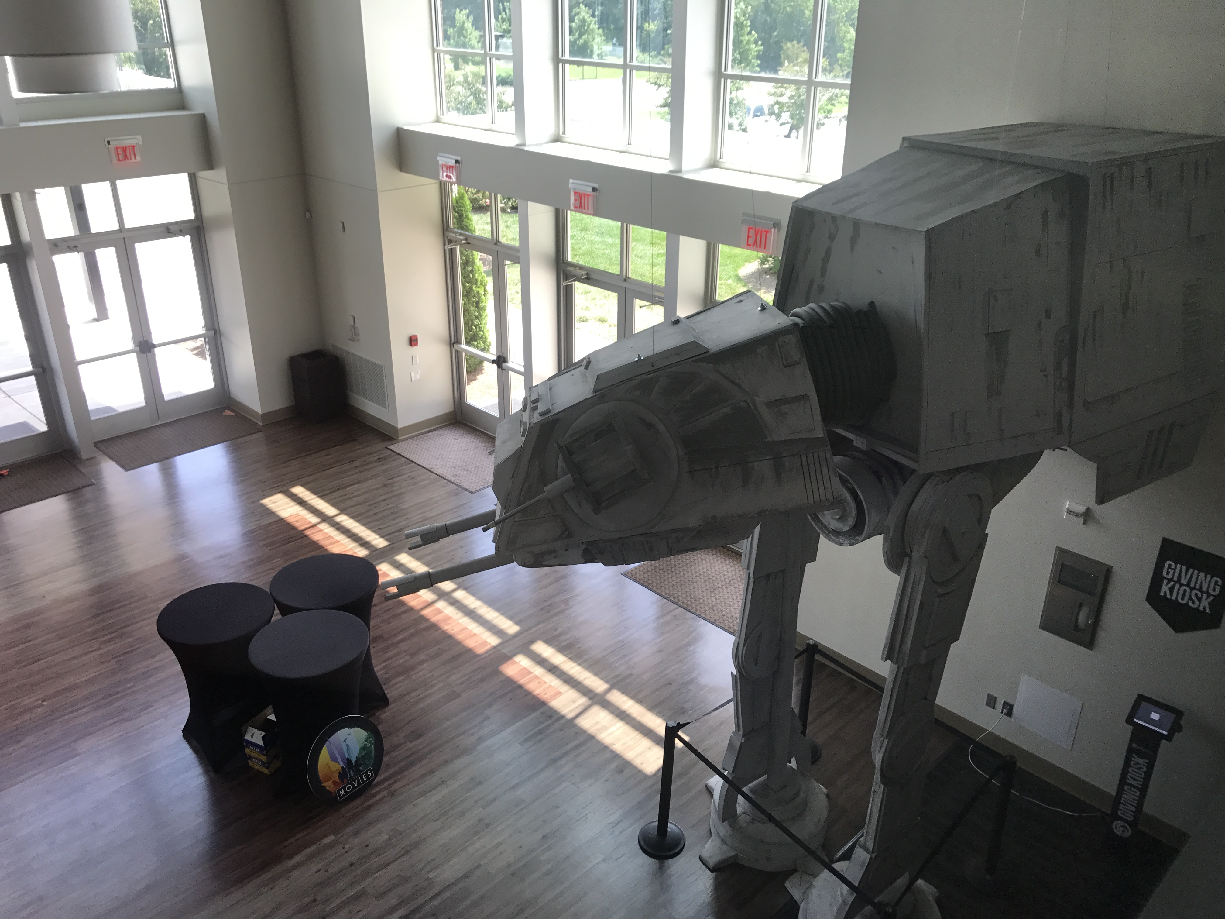 Picture of Make a Large-Scale Star Wars AT-AT Walker