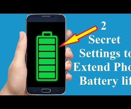 Secret Settings to Keep Your Phone Battery Alive for Longer