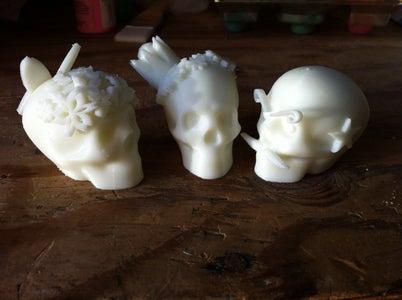 3D Printing Calaveras/Dia De Los Muertos