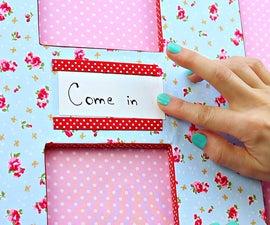 DIY door letter   Easy DIY room decor   DIY Christmas presents