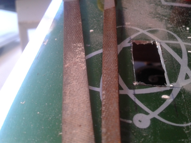 Picture of Disassemble the Cover and Decide Here You Can Place the Voltage Meter.