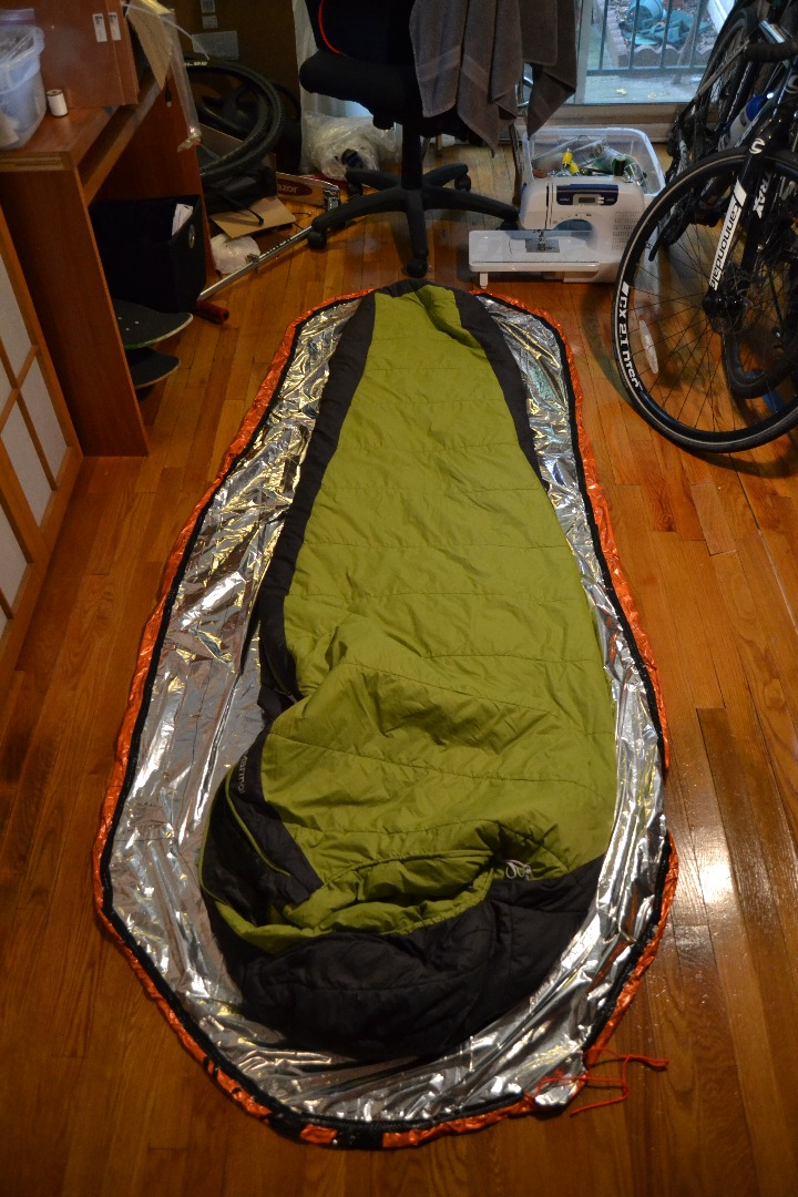 Picture of Semi-Bivy: Keep Your Sleeping Bag Dry and Warmer