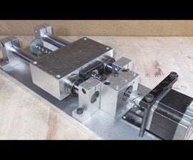 Homemade X Y Z Axis Slide by Aluminium for DIY Laser 3D Printer CNC Router Mill Machine