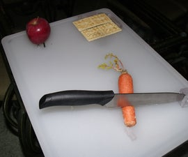 Assistive Cutting board for one hand use for Disabled, elderly or ill.