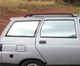 Cheap Two-way Mirror - Tinted Window - Car Intimity