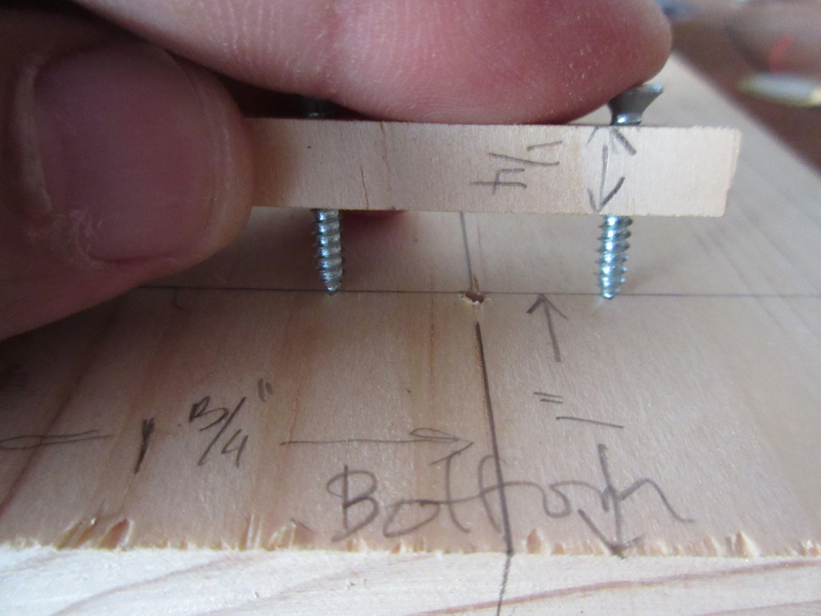 Picture of Drill Piezo Holder Pilot Holes.