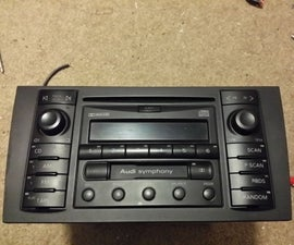 Audi Symphony 1 dirt cheap AUX port.