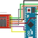 Adafruit / Sparkfun MicroSD breakout and Arduino Micro