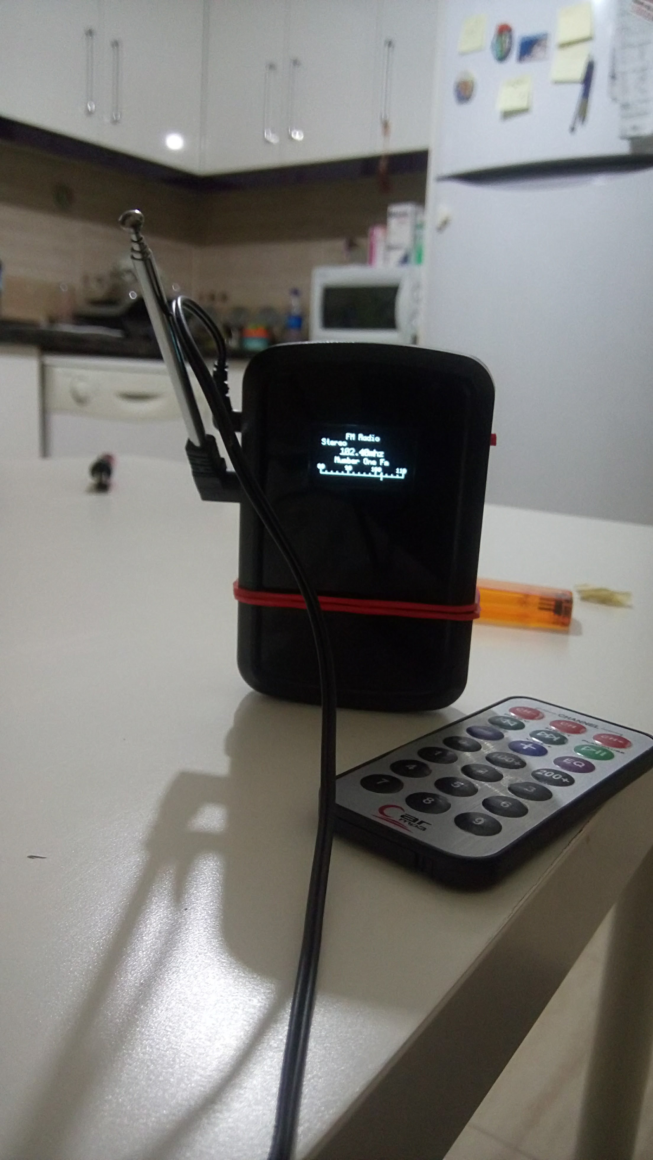 Picture of Diy Arduino Tea5767 Pocket Radio With Remote Control and Rechargeable